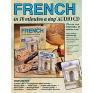 French in 10 minutes a day - AUDIO CD