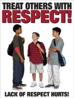 Treat Others with Respect III (Laminated)