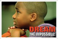 Dream the Impossible (Laminated)