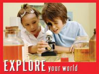 Explore your World (Laminated)