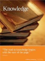 Knowledge (Laminated)