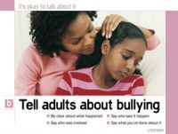 Tell Adults About Bullying (Laminated)