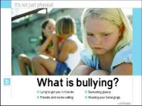What is Bullying? (Laminated)